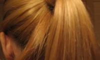 Как делать конский хвост с начесом — видео