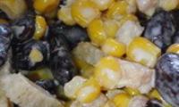 Салат с кириешками и колбасой — рецепт приготовления