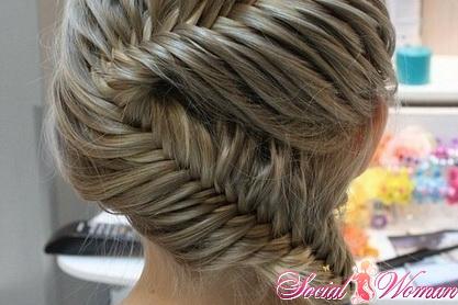 Как плести объемную косу (французская коса наоборот): фото ...
