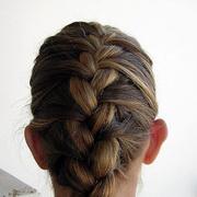 Заплести французскую косу