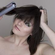 Как завить волосы выпрямителем