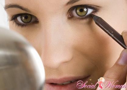 Как сделать макияж для больших глаз