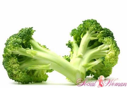 Полезные свойства брокколи