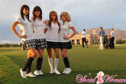 Высокие гольфы
