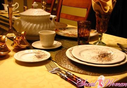 Как сервировать праздничный стол